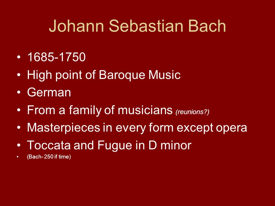 Opener - Baroque Artist Quiz (on your own paper) - ppt download