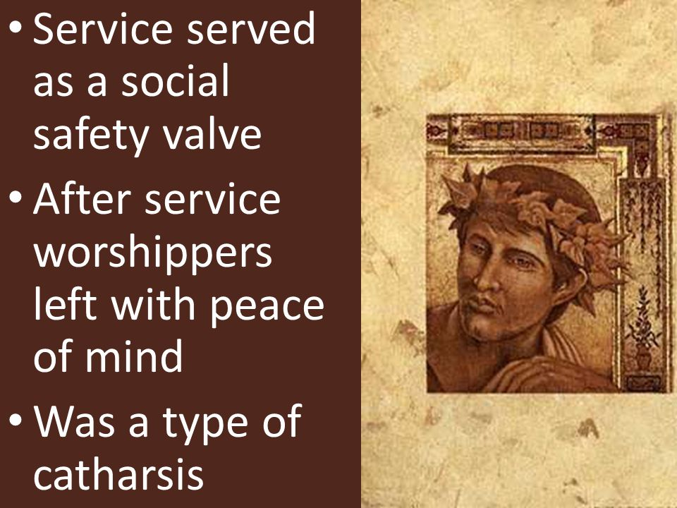 Service served as a social safety valve