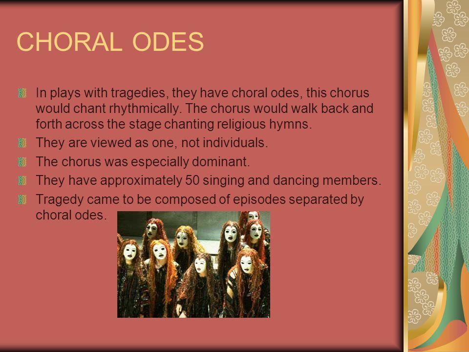 CHORAL ODES