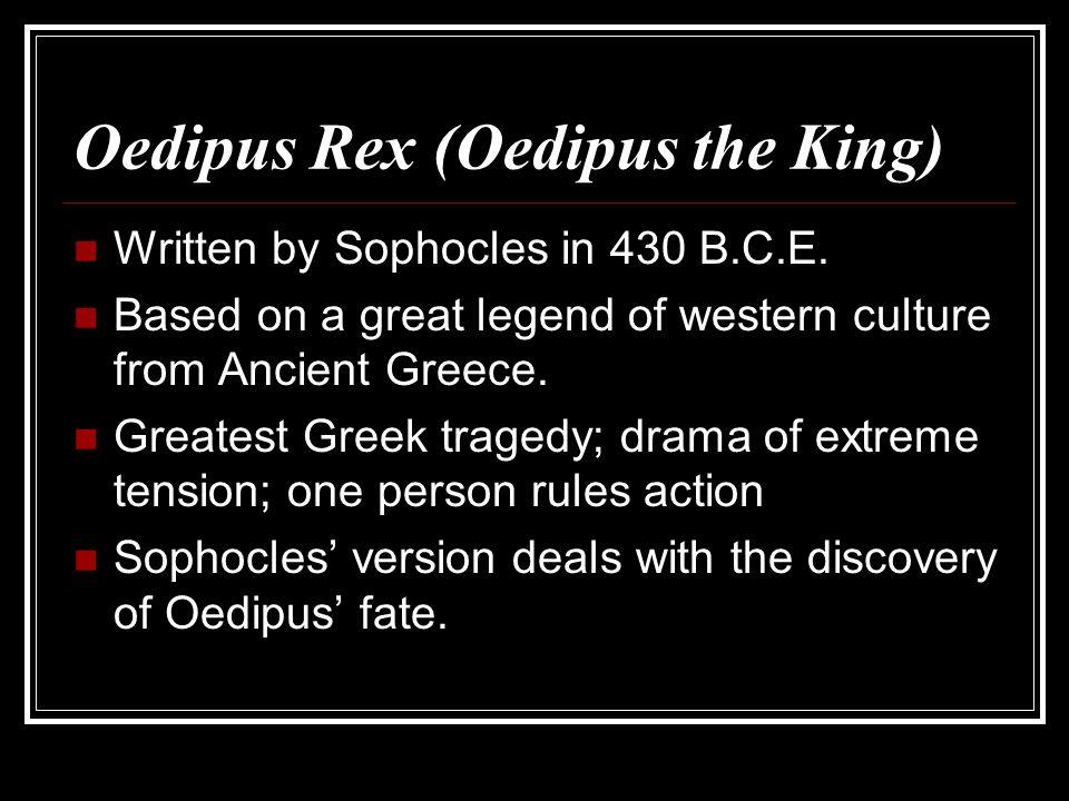 Oedipus Rex (Oedipus the King)