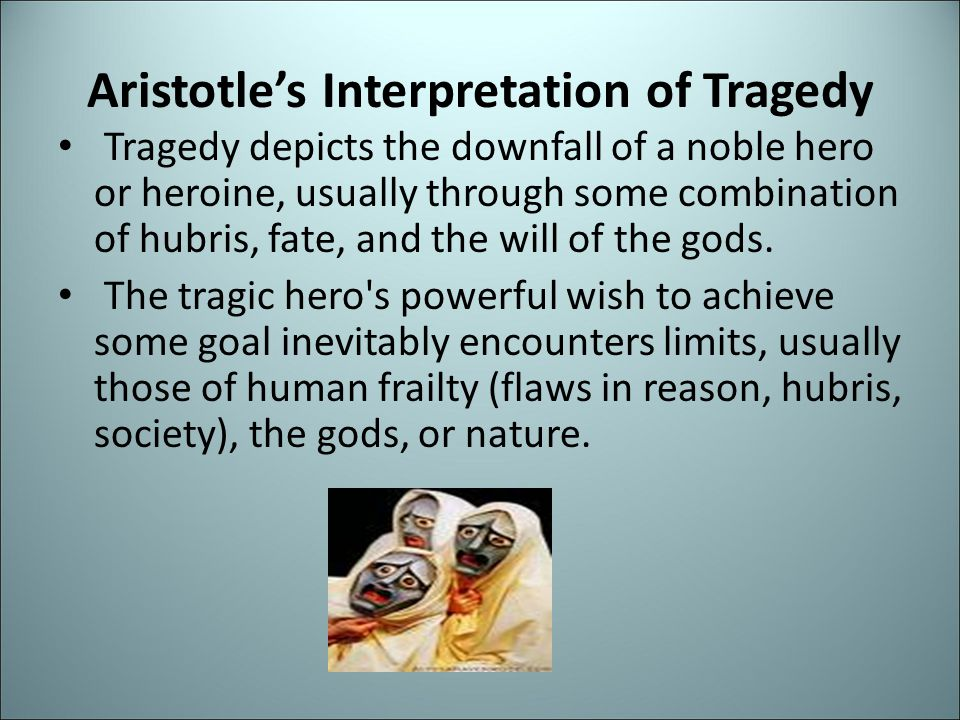 Aristotle's Interpretation of Tragedy