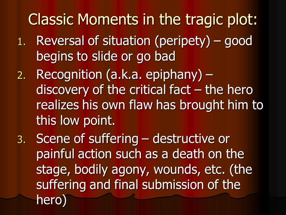 Classic Moments in the tragic plot: