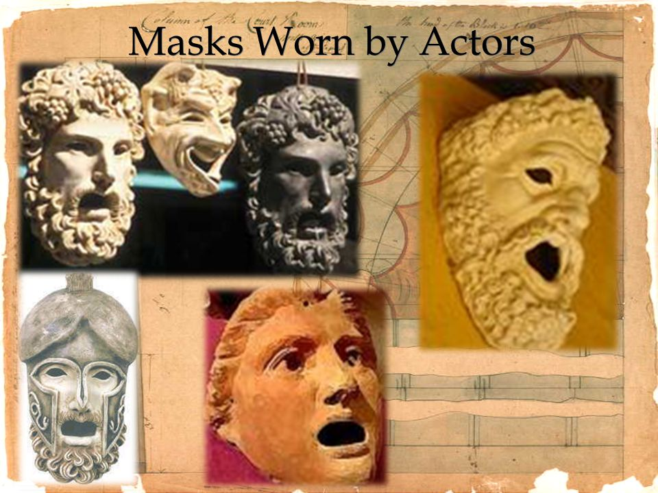Masks Worn by Actors