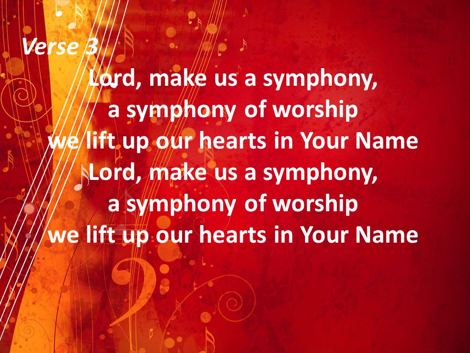 we lift up our hearts in Your Name