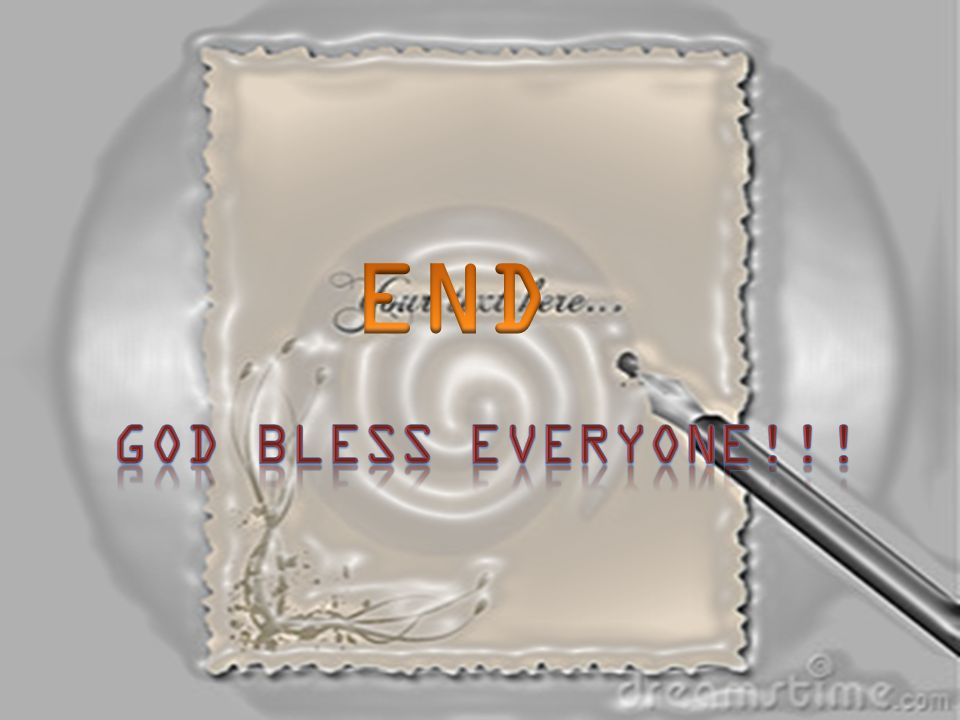 END God bless Everyone!!!