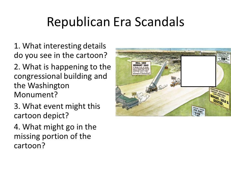 Republican Era Scandals