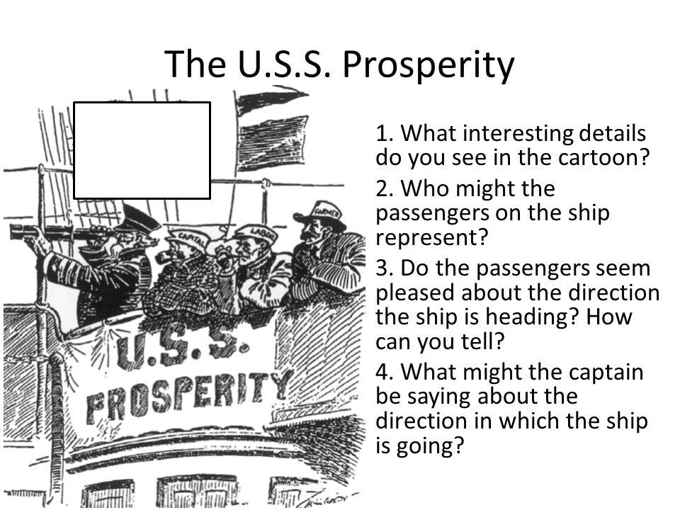 The U.S.S. Prosperity
