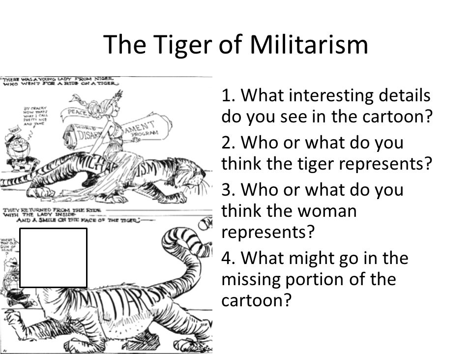 The Tiger of Militarism