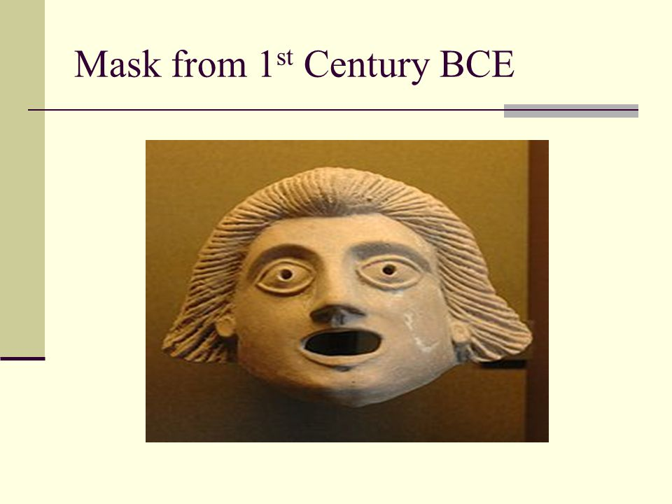 Mask from 1st Century BCE