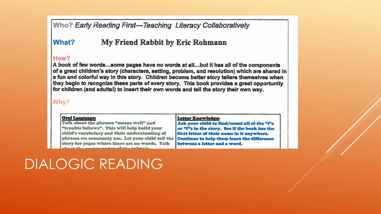 Dialogic Reading