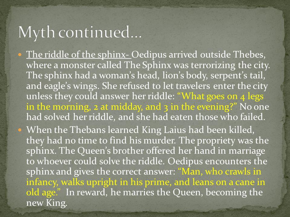 Myth continued…