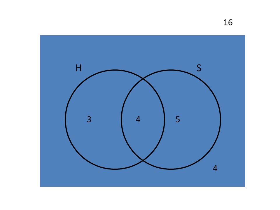 16 H S 3 4 5 4