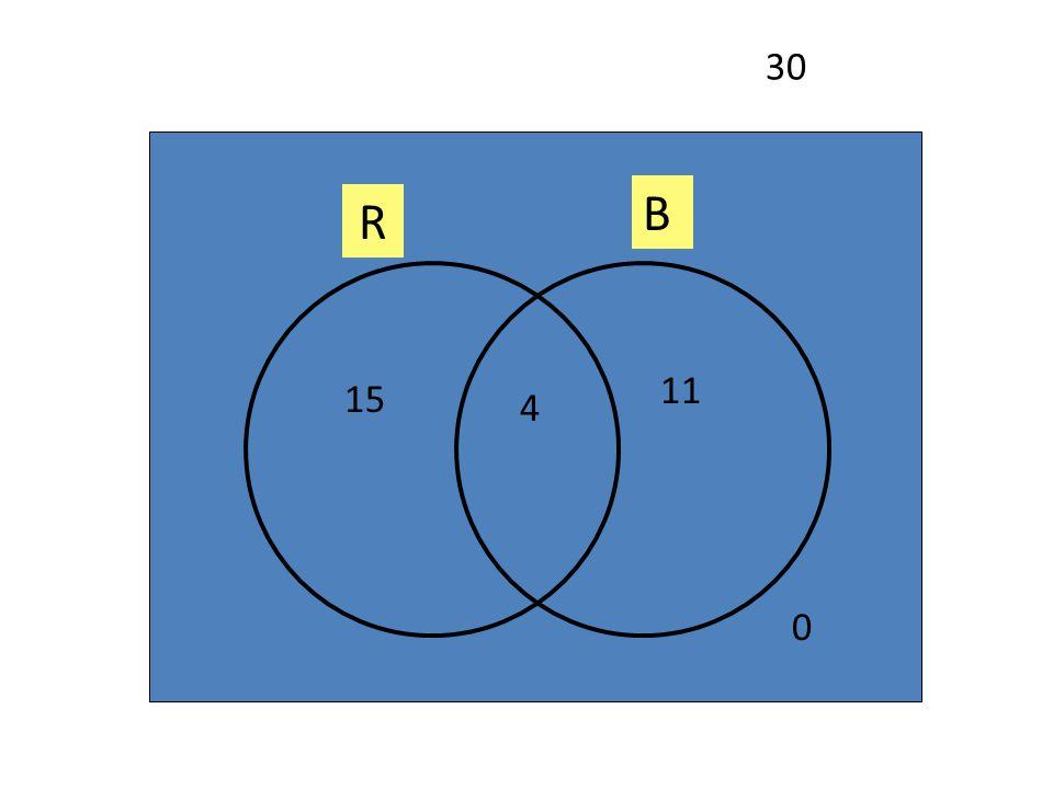 30 B R 11 15 4