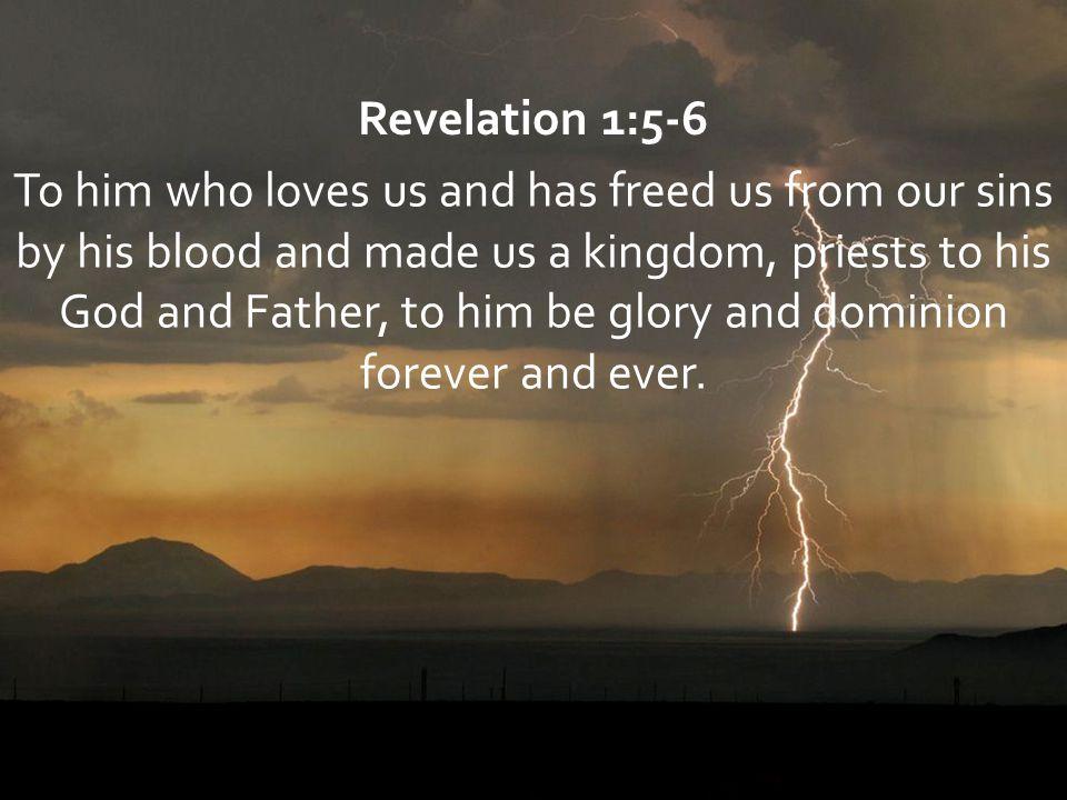 Revelation 1:5-6