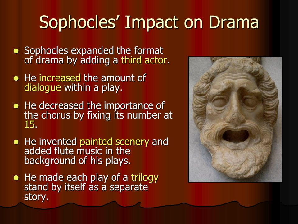 Sophocles' Impact on Drama