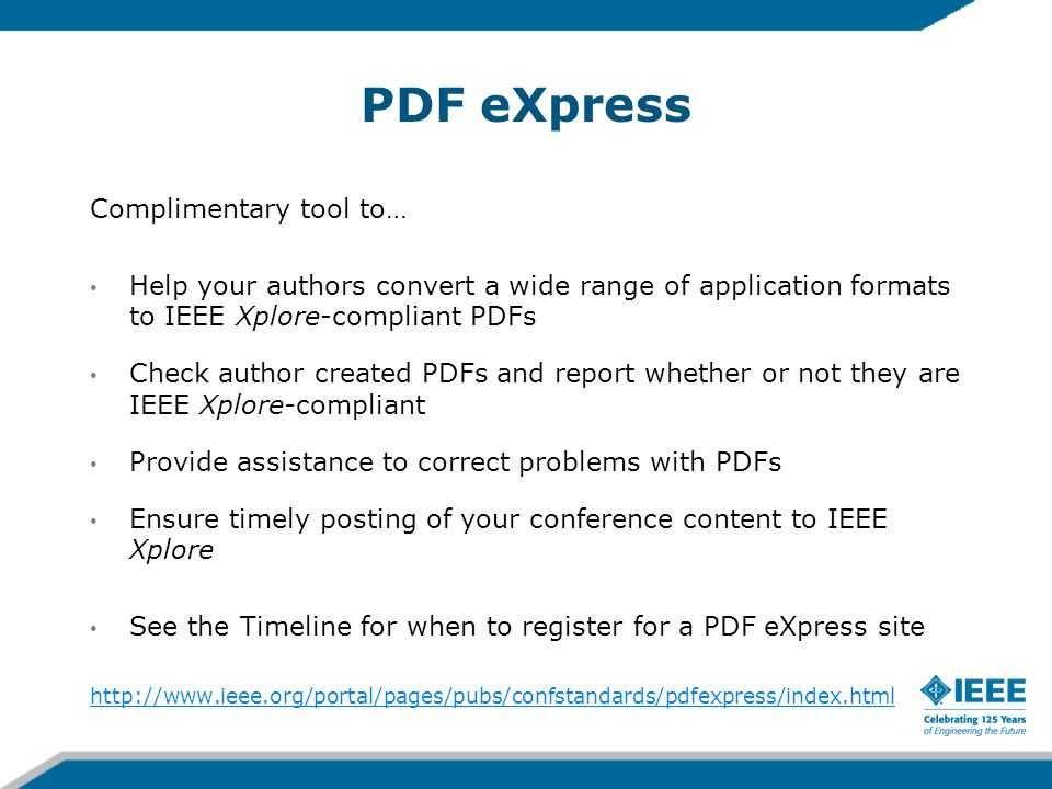 PDF eXpress Complimentary tool to…