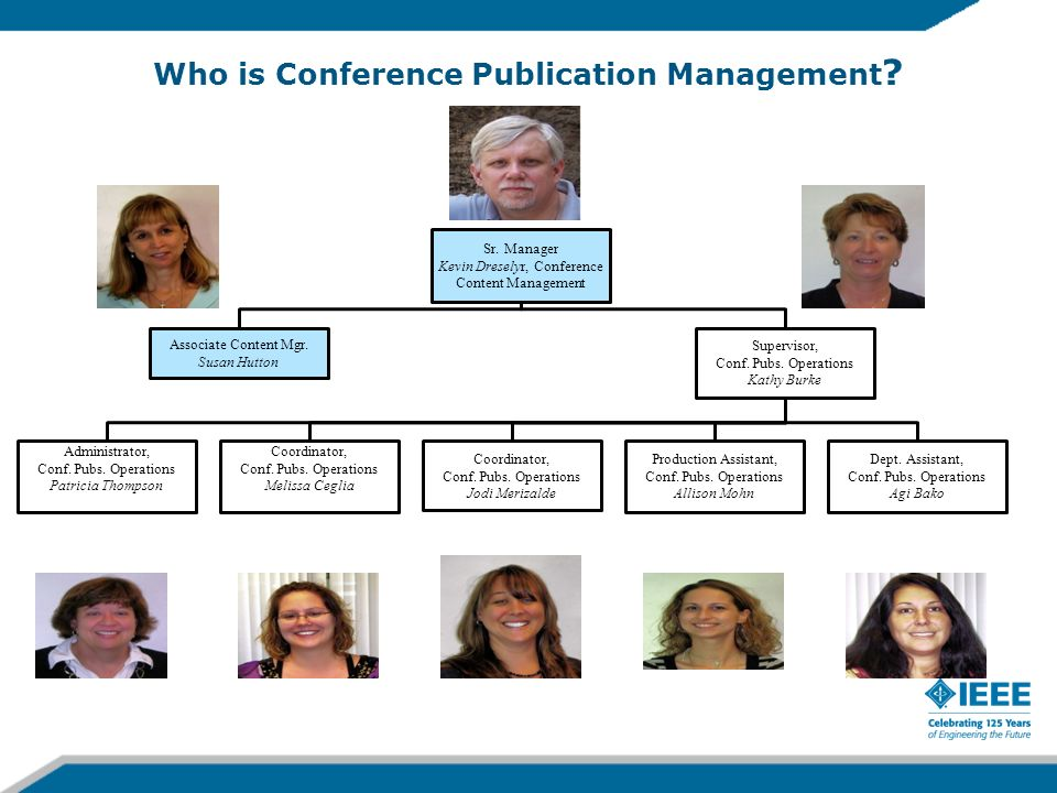 Who is Conference Publication Management