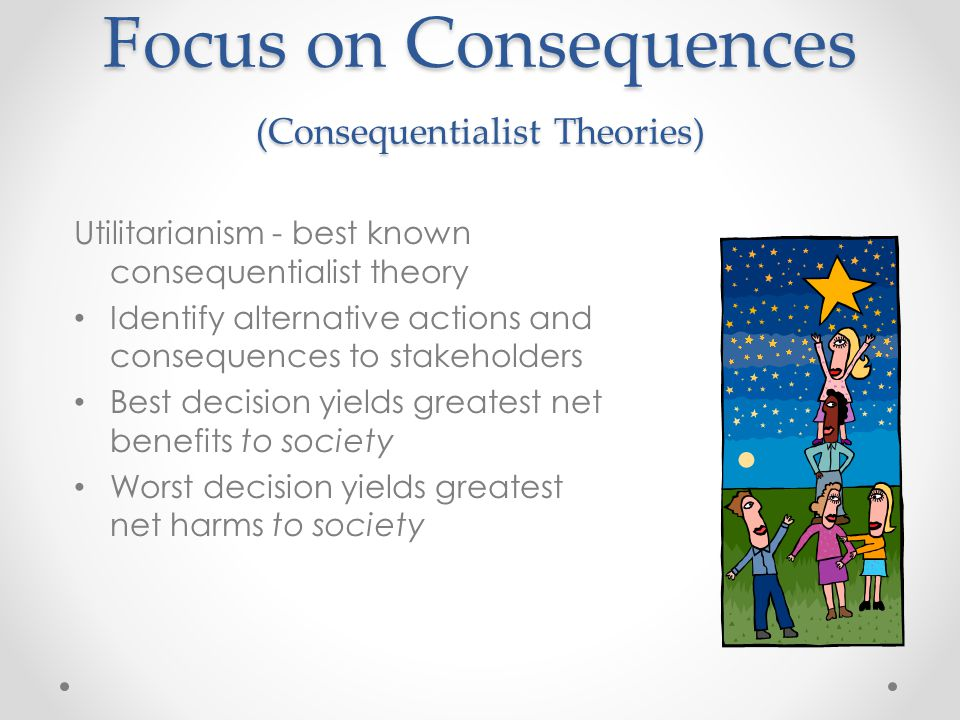 Focus on Consequences (Consequentialist Theories)