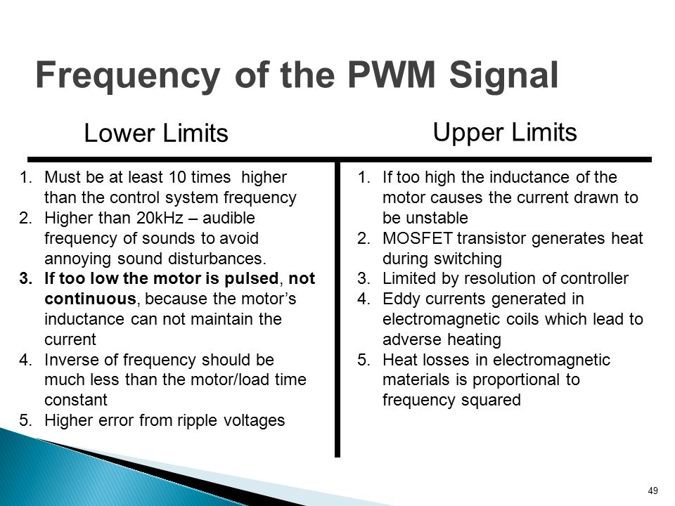 Pwm Pulse Width Modulation Ppt Video Online Download