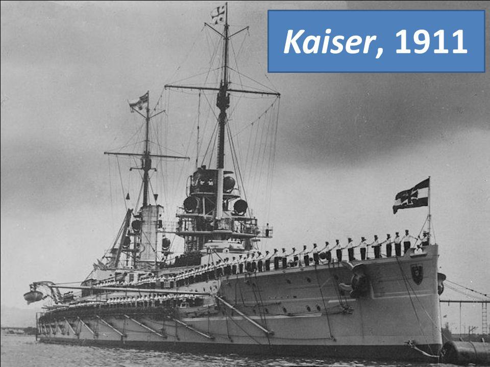 Kaiser, 1911