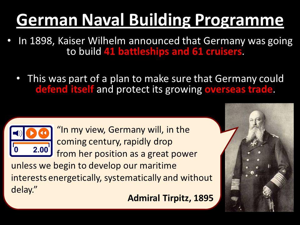 German Naval Building Programme
