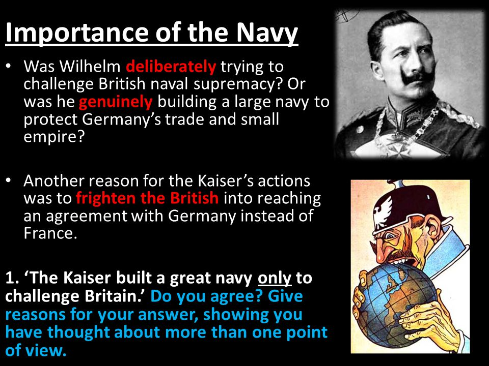 Importance of the Navy
