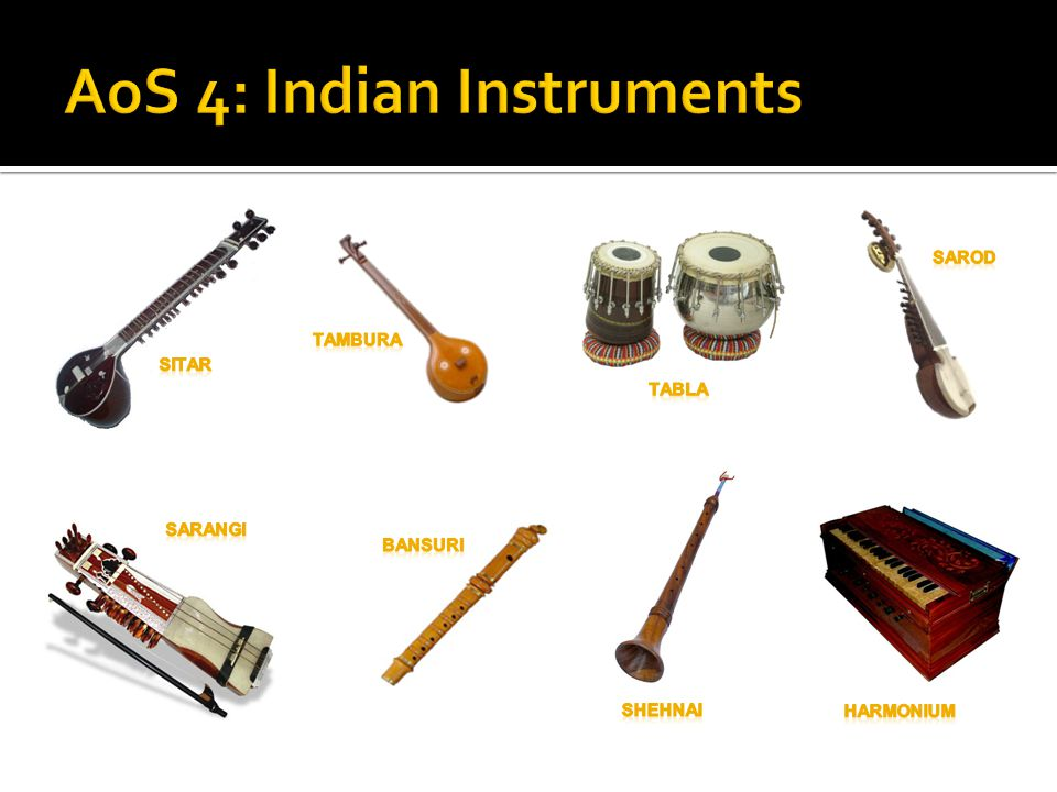 AoS 4: Indian Instruments