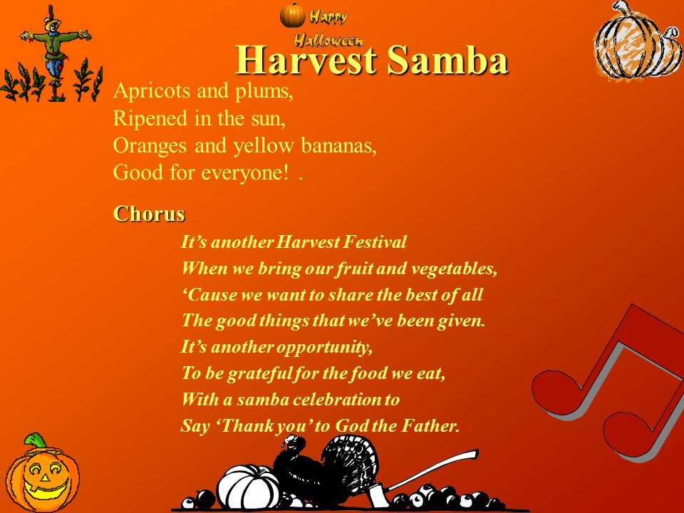 Harvest Samba Apricots and plums, Ripened in the sun,