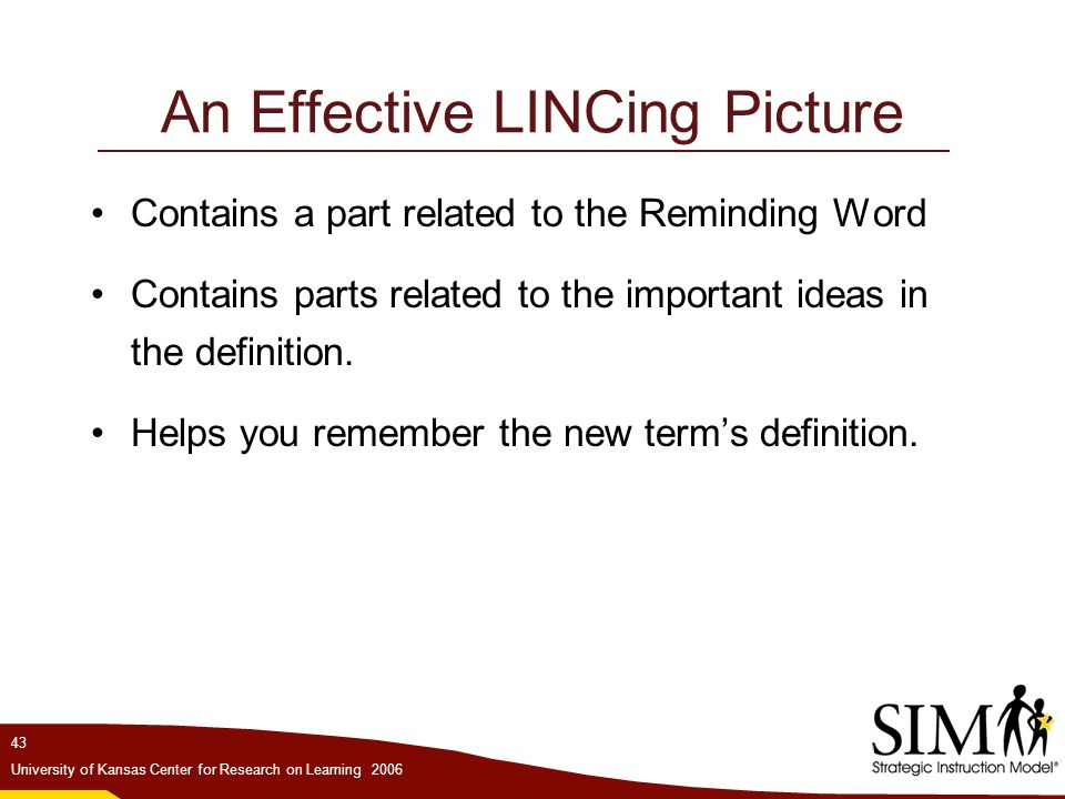An Effective LINCing Picture