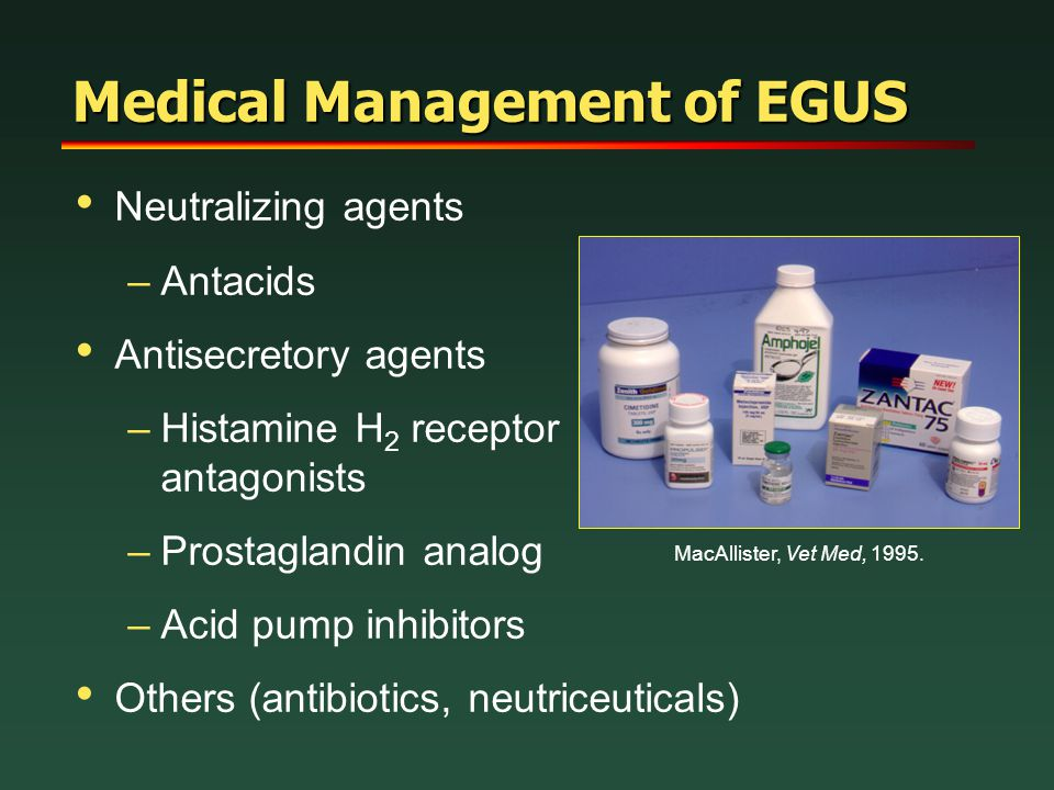 Medical Management of EGUS