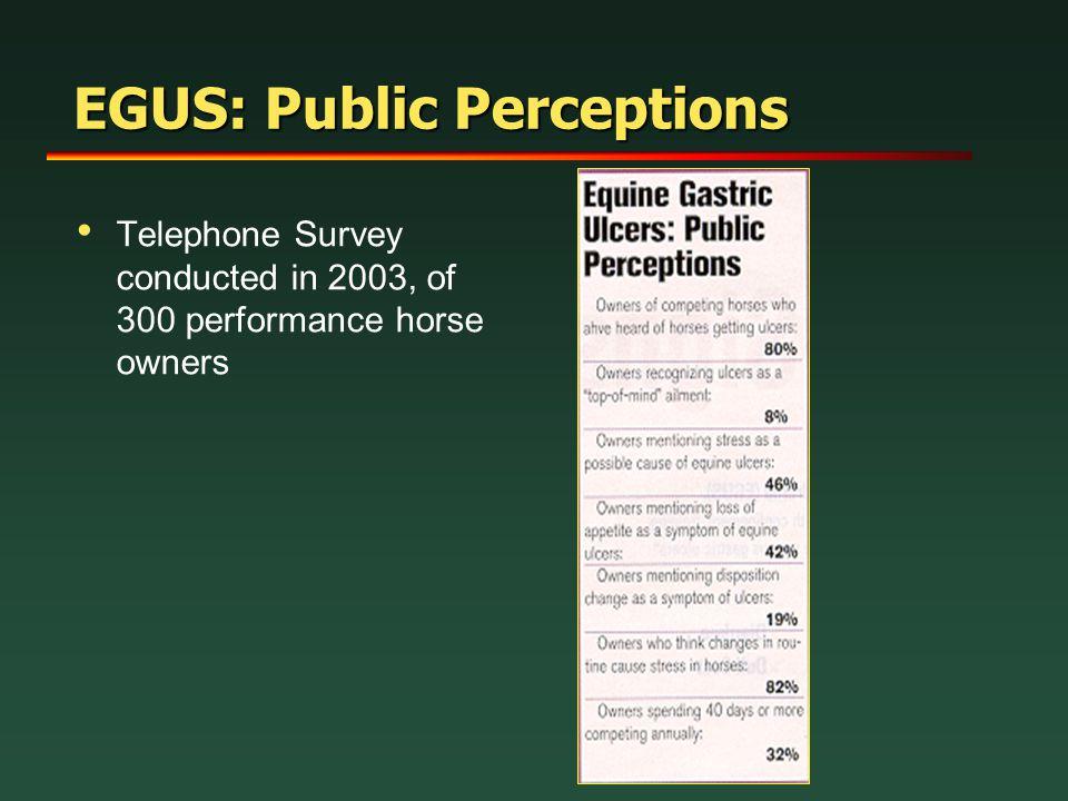 EGUS: Public Perceptions