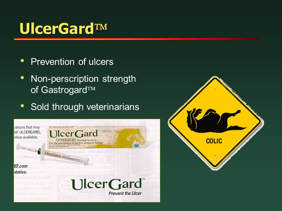 UlcerGard Prevention of ulcers