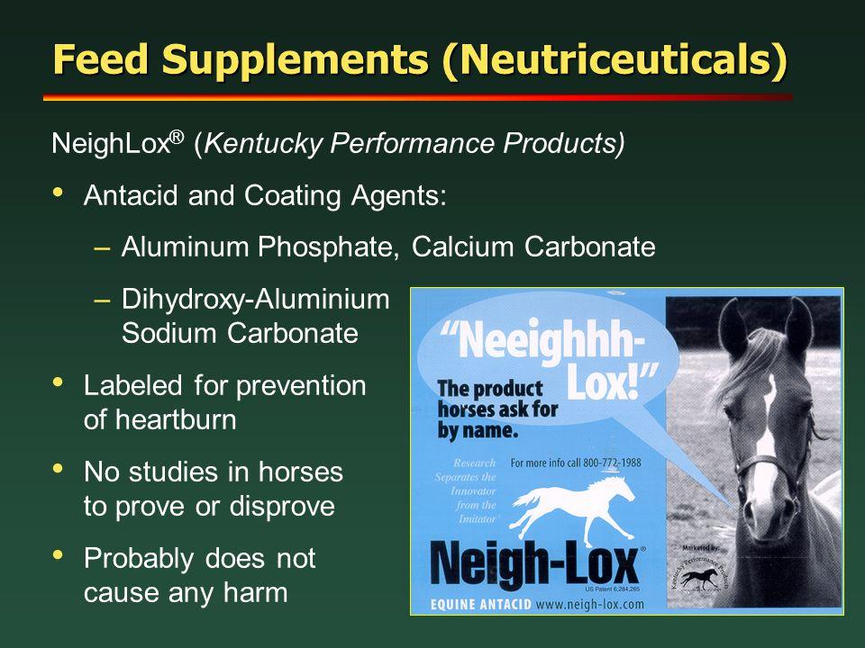 Feed Supplements (Neutriceuticals)