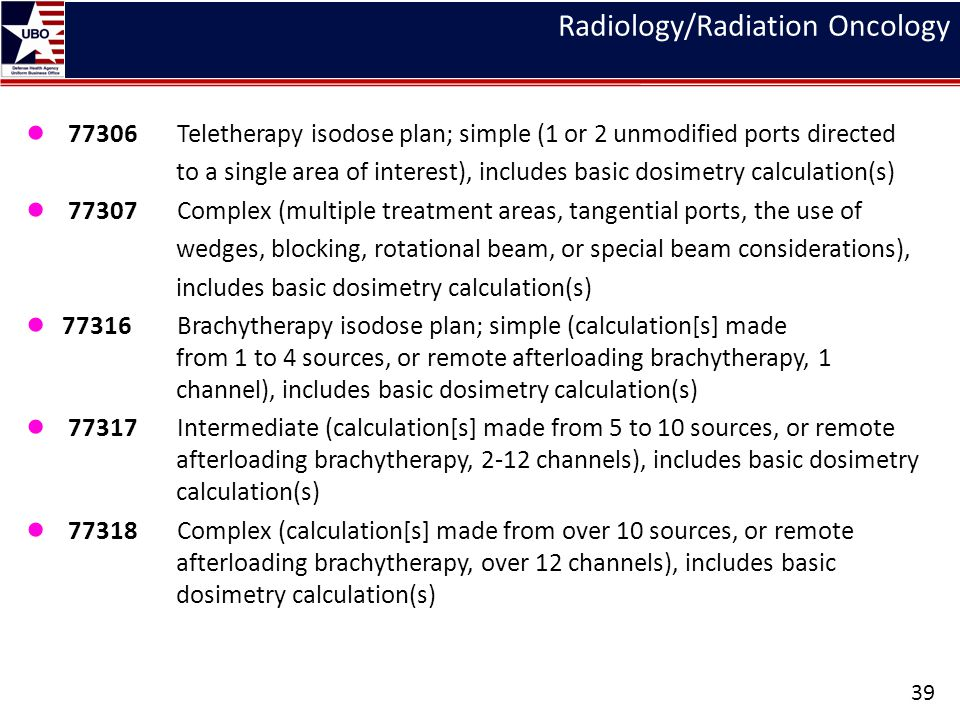 Radiology/Radiation Oncology