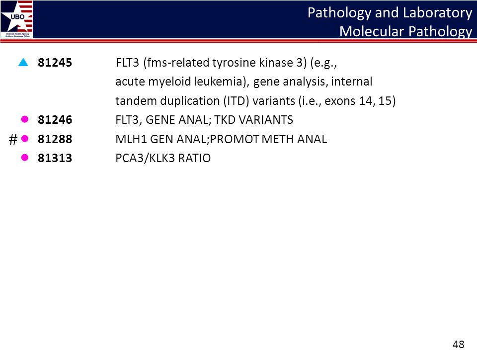 Pathology and Laboratory Molecular Pathology