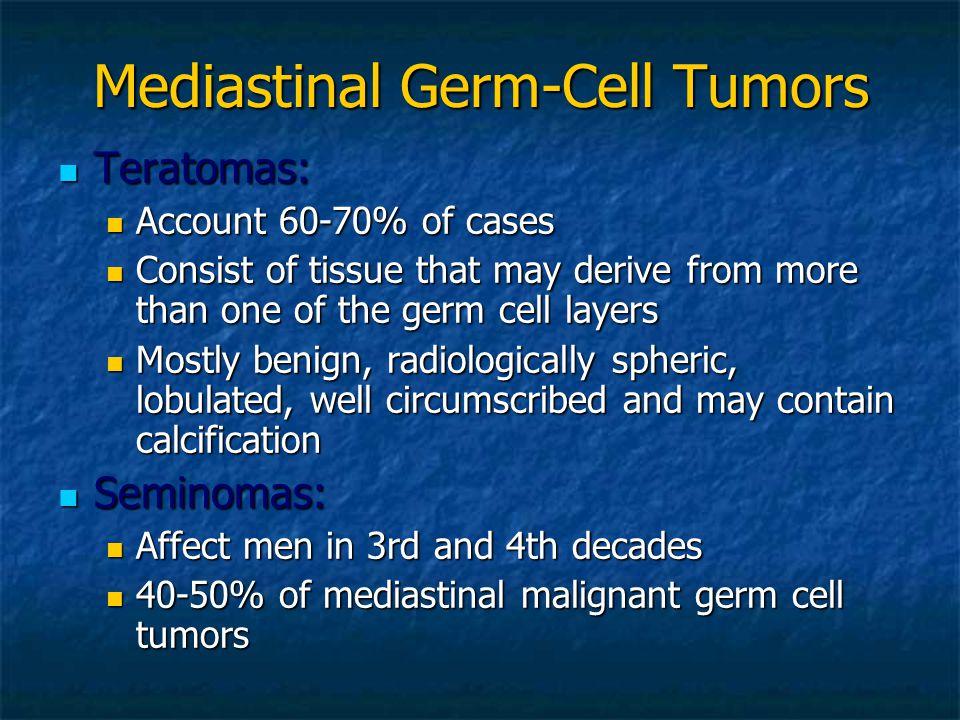 Mediastinal Germ-Cell Tumors