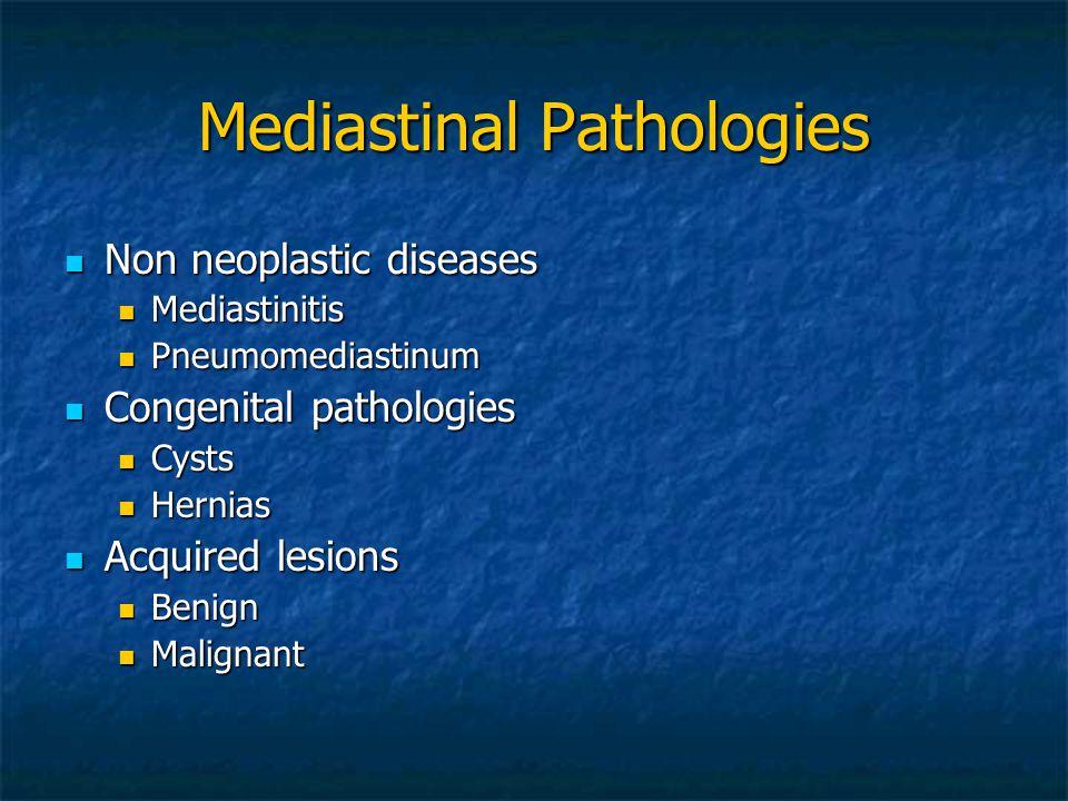Mediastinal Pathologies