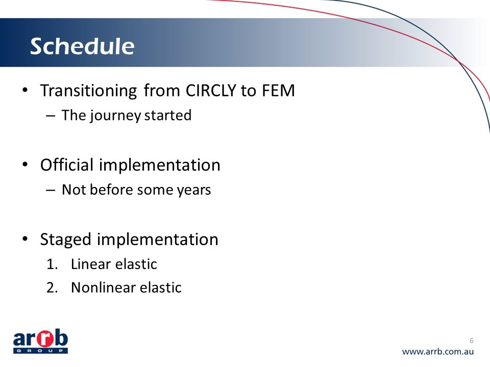 Schedule Transitioning from CIRCLY to FEM Official implementation