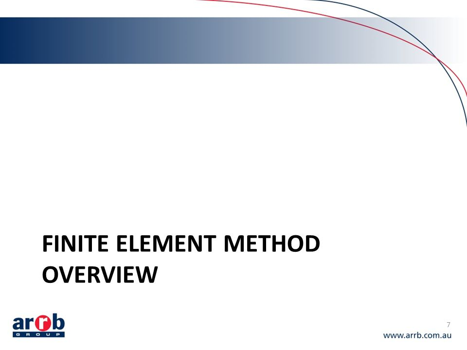 Austpads finite element method based pavement response to for Finite element methode