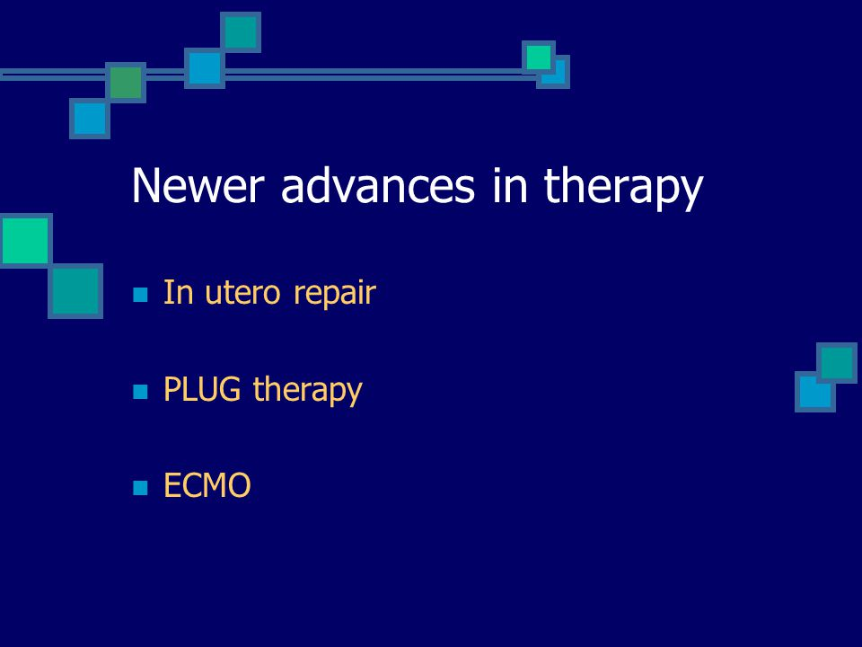 Newer advances in therapy