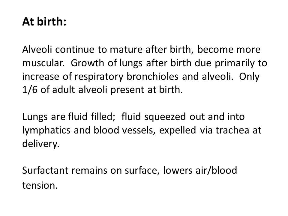 At birth: