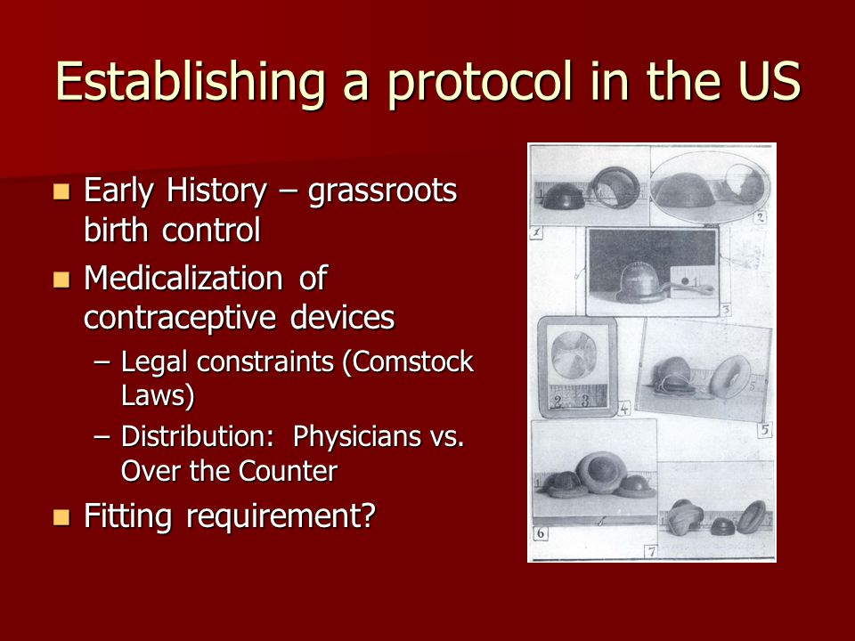 Establishing a protocol in the US