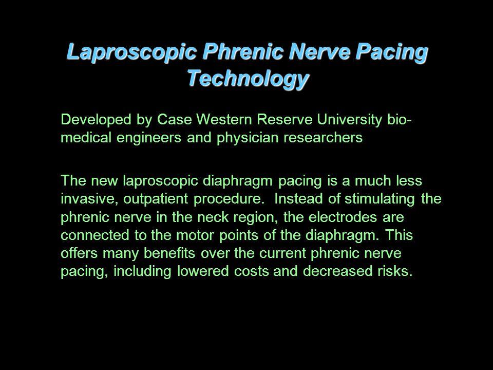Laproscopic Phrenic Nerve Pacing Technology