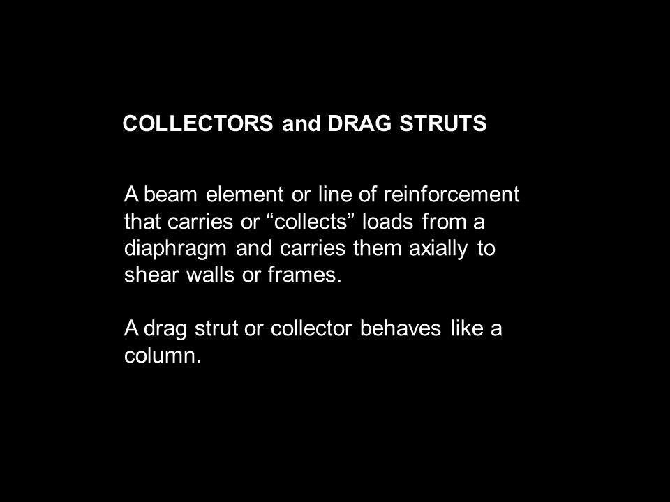 COLLECTORS and DRAG STRUTS