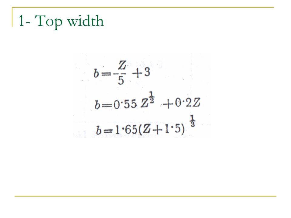 1- Top width