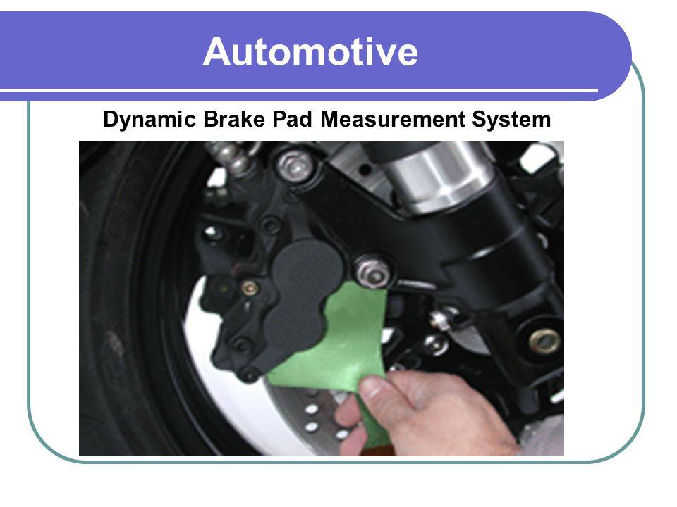Dynamic Brake Pad Measurement System