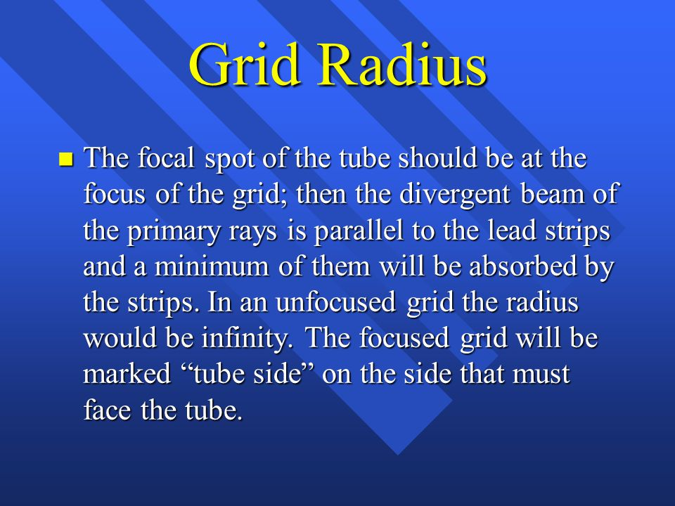 Grid Radius