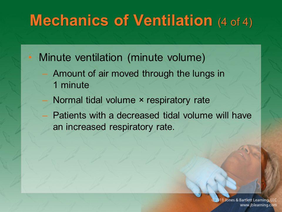 Mechanics of Ventilation (4 of 4)