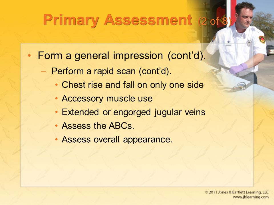 Primary Assessment (2 of 8)