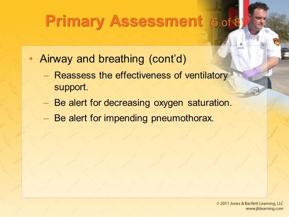Primary Assessment (5 of 8)
